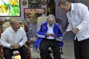 Castro se retiró de la vida pública debido a una enfermedad intestinal. Foto:granma.cu / Estudio Revolución
