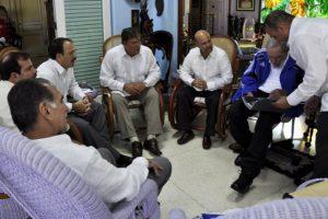 Los otros tres agentes fueron liberados gracias al acuerdo entre Estados Unidos y Cuba. Foto:granma.cu / Estudio Revolución