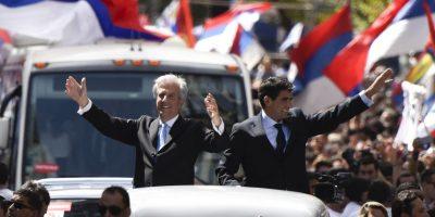 Tabaré fue Presidente de Uruguay en 2005. Foto:AP