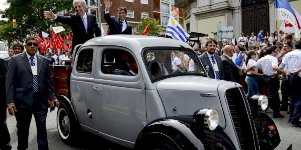 El nuevo presidente de Uruguay también tiene un automóvil viejo