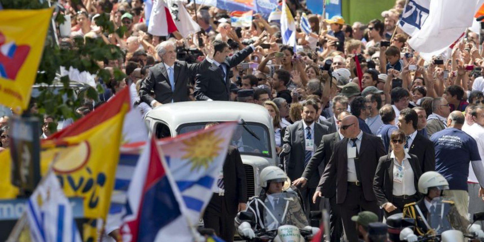 Vázquez tendrá el honor de ser el tercer uruguayo en gobernar el país dos veces desde comienzos del siglo XX. Foto:AP