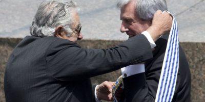 Mujica le entregará a Vázquez un gobierno con altos índices de aceptación popular. Foto:AP