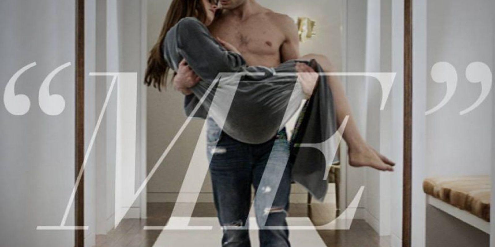 Jamie Dornan admitió que solía disculparse con su compañera antes grabar las escenas de sexo. Foto:Facebok/FiftyShadesofGrey