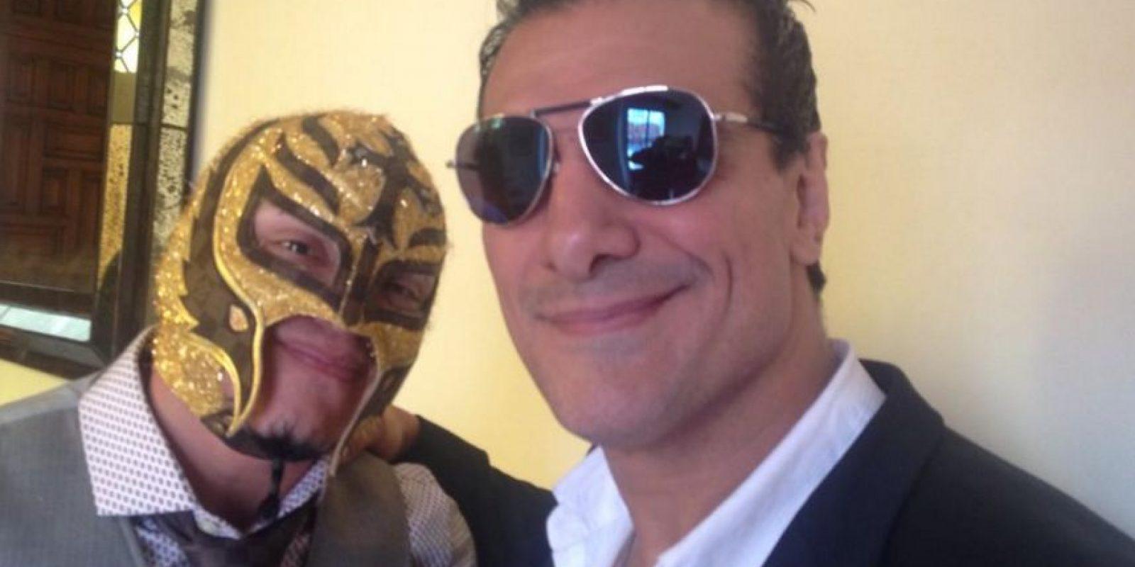 """Compartirá escenario con Alberto del Rio, ahora llamado """"El Patrón"""" Foto:Twitter: @luchalibreaaa"""