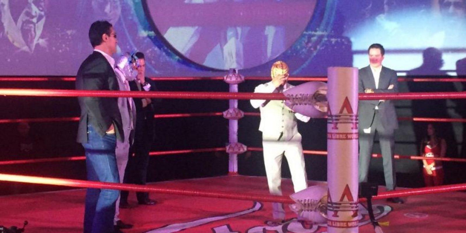 Fue presentado como nueva figura de la AAA, de México Foto:Twitter: @luchalibreaaa