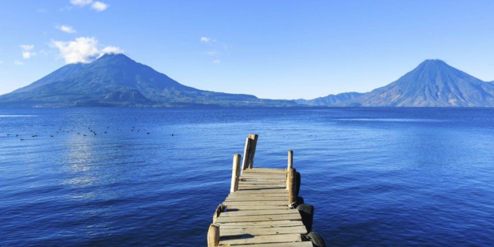 El famoso Lago de Atitlán es el cuerpo de agua más feo que hayas visto. Foto:http://www.buzzfeed.com/