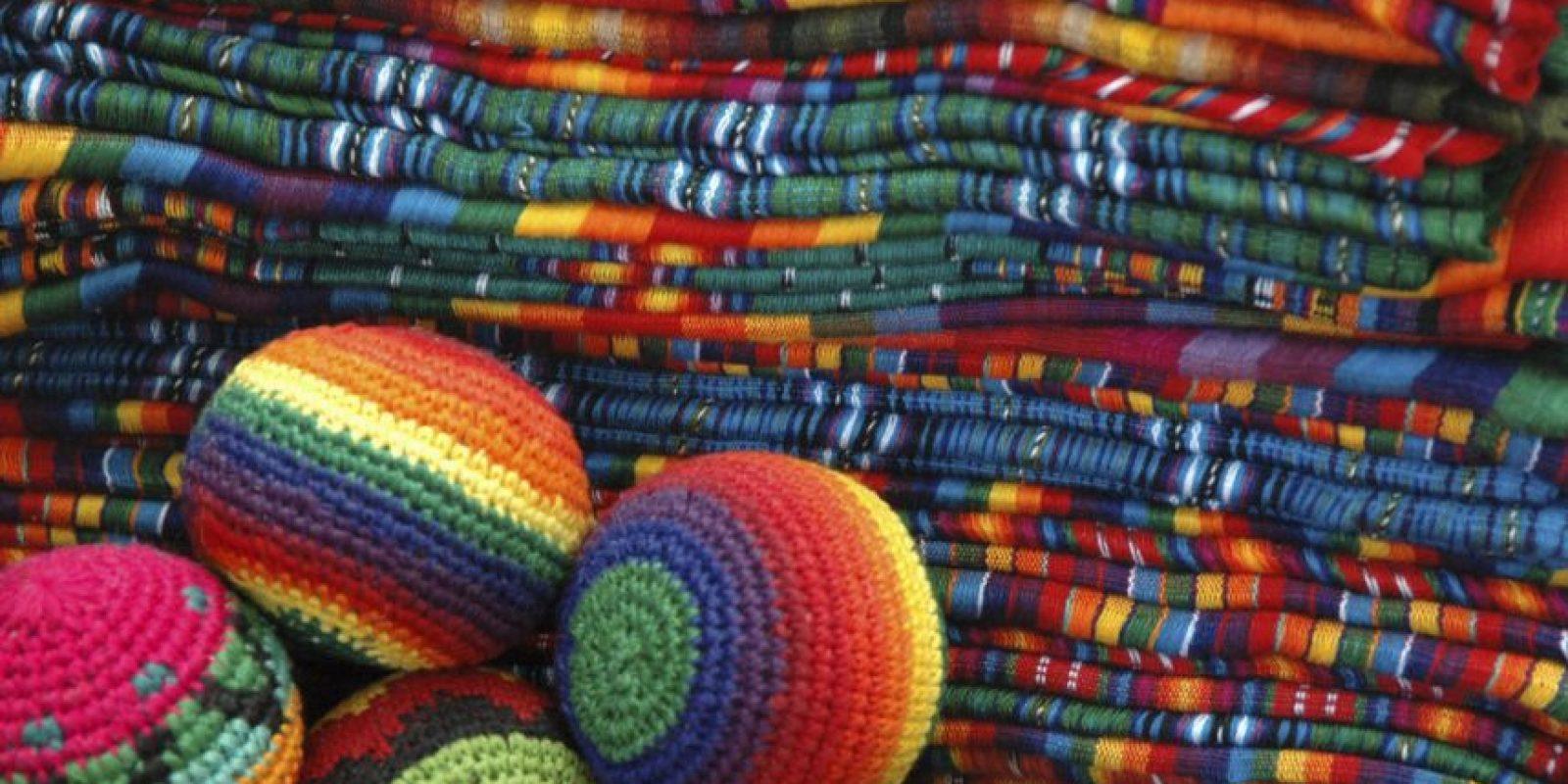 Dicen que sus textiles se llevan meses en hacer. ¡Qué perdida de tiempo! Foto:http://www.buzzfeed.com