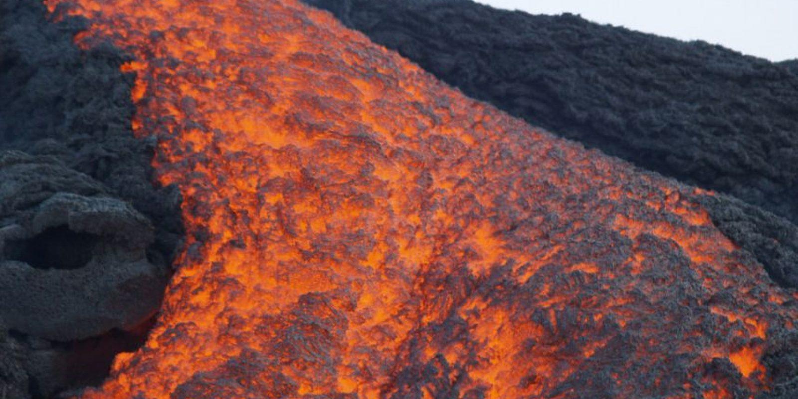 Y a veces logras ver la lava que sale del Pacaya y esto no es nada emocionante. Foto:http://www.buzzfeed.com