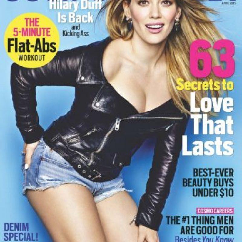 """Hilary Duff en la portada de la última edición de """"Cosmopolitan"""" Foto:Instagram/hilaryduff"""