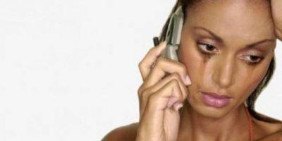 """Sarah acudió al programa estadounidense """"Dr. Phill"""" para que la ayuden a reunirse con Olsen. Foto:Tumblr.com/Tagged-mujer-triste"""