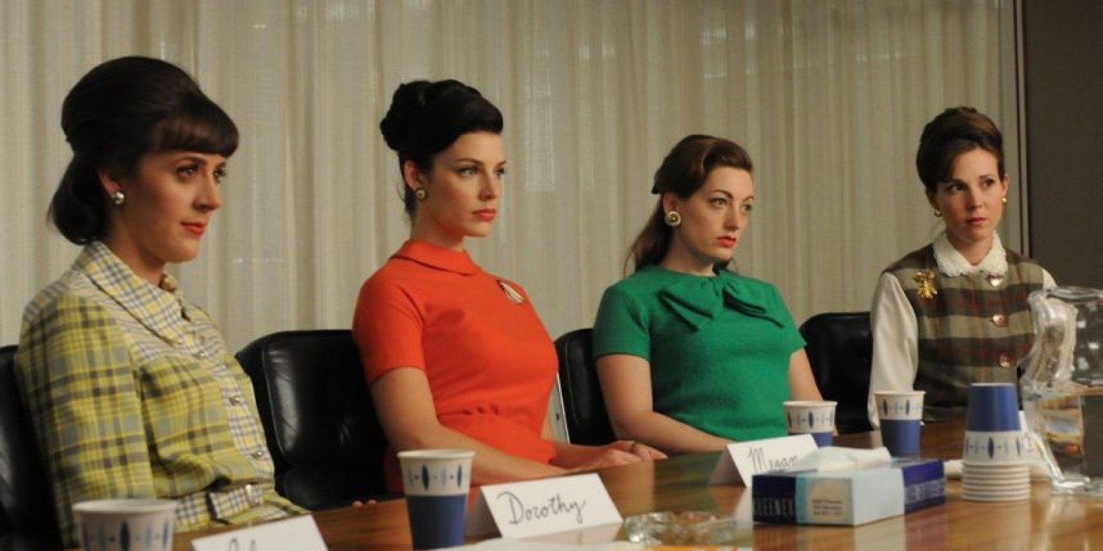 Su creadora quiere ampliar el debate sobre la igualdad femenina Foto:AMC