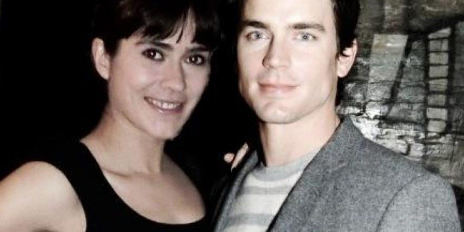 También dijo que estuvo con Matt Bomer. Todo era photoshop Foto:Instagram