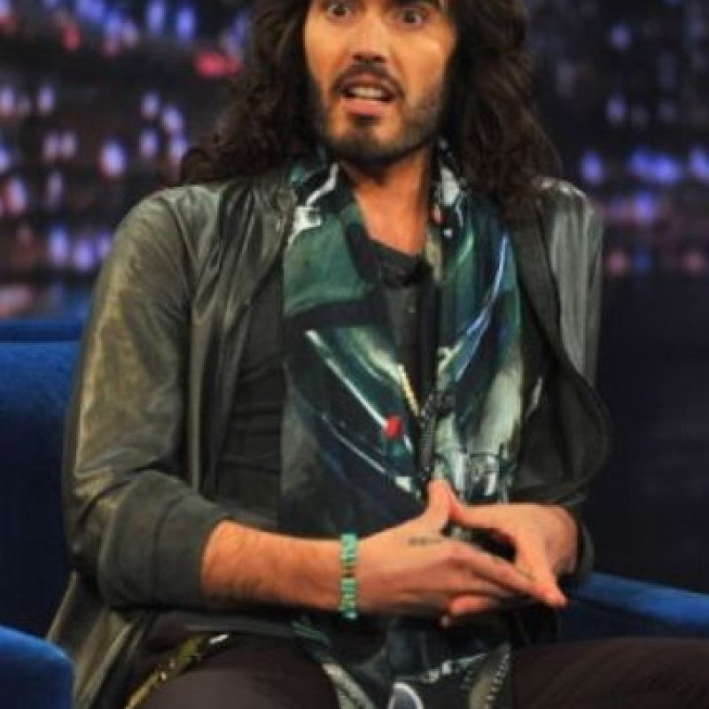 8. Russell Brand Foto: Getty Images