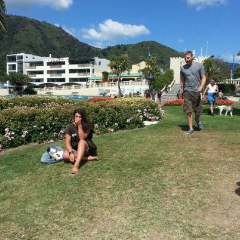 Finalmente Will Scott apareció. Foto:Vía Facebook: Beachcomber-Fun-Cruises