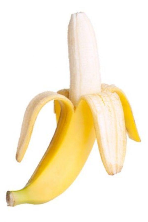 5. Un plátano mide en promedio 16 cms (6 pulgadas). Foto:Wikimedia