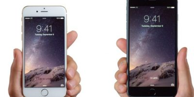 6. Un iPhone 6 Plus mide 15.58 cms de alto (6 pulgadas) Foto:Apple