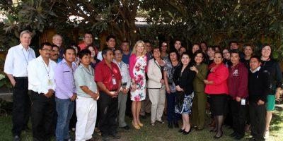 FOTOS. La visita a Guatemala de la segunda mujer