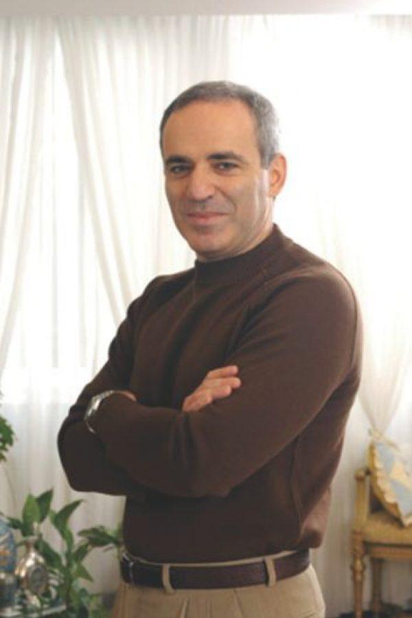 Garry Kasparov. Foto:Cortesía