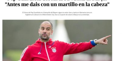 El técnico del Bayern descartó que tenga intenciones de volver al Camp Nou. Foto:Publinews