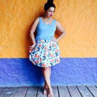 Tiene 34 años. Es la única plus size latina que ha logrado ser conocida a nivel internacional Foto:Fluvia Lacerda/Facebook