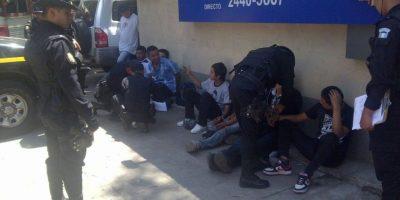 Conoce a los detenidos que se hacían pasar por huelgueros