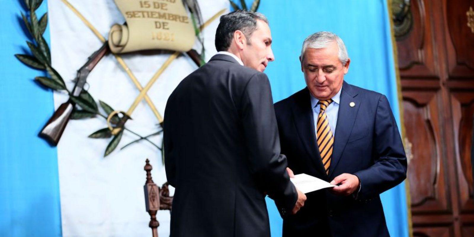 El nuevo embajador de Colombia, Carlos Manuel Pulido Collazos