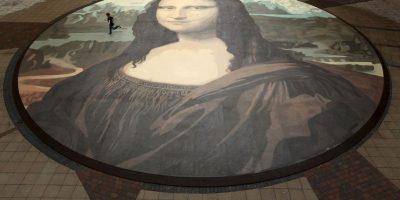 La obra fue pintada entre 1503 y 1519. Foto:Getty Image
