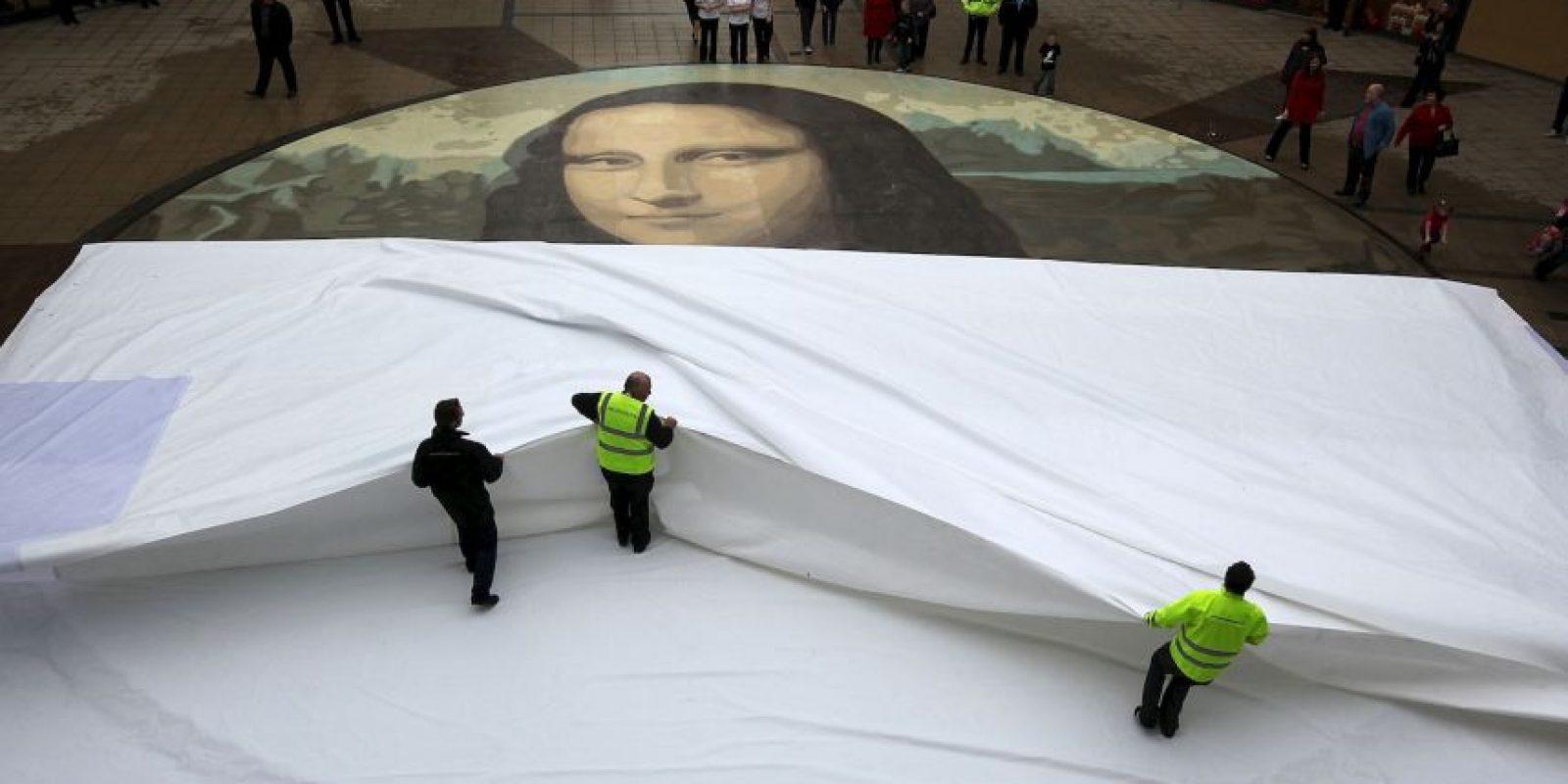 Es la pintura más conocida en el mundo. Foto:Getty Image