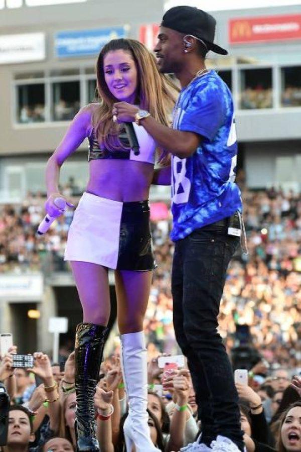 Big Sean y Ariana Grande Foto:Agencias
