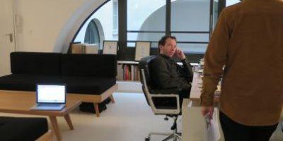 La oficina con sensores para medir la aburrida actividad cotidiana