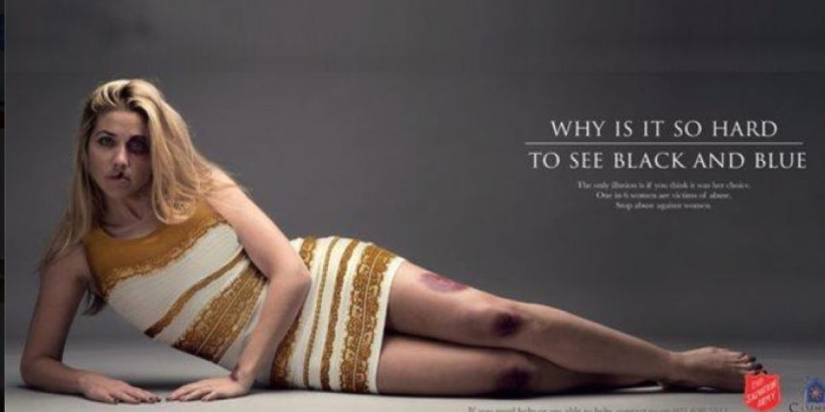 #TheDress protagoniza campaña contra la violencia doméstica