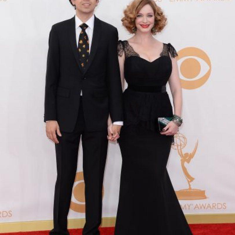 Christina Hendricks y Geoffrey Arend Foto:Agencias