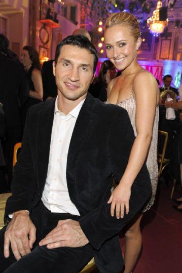 Hayden Panettiere y Wladimir Klitschko Foto:Agencias