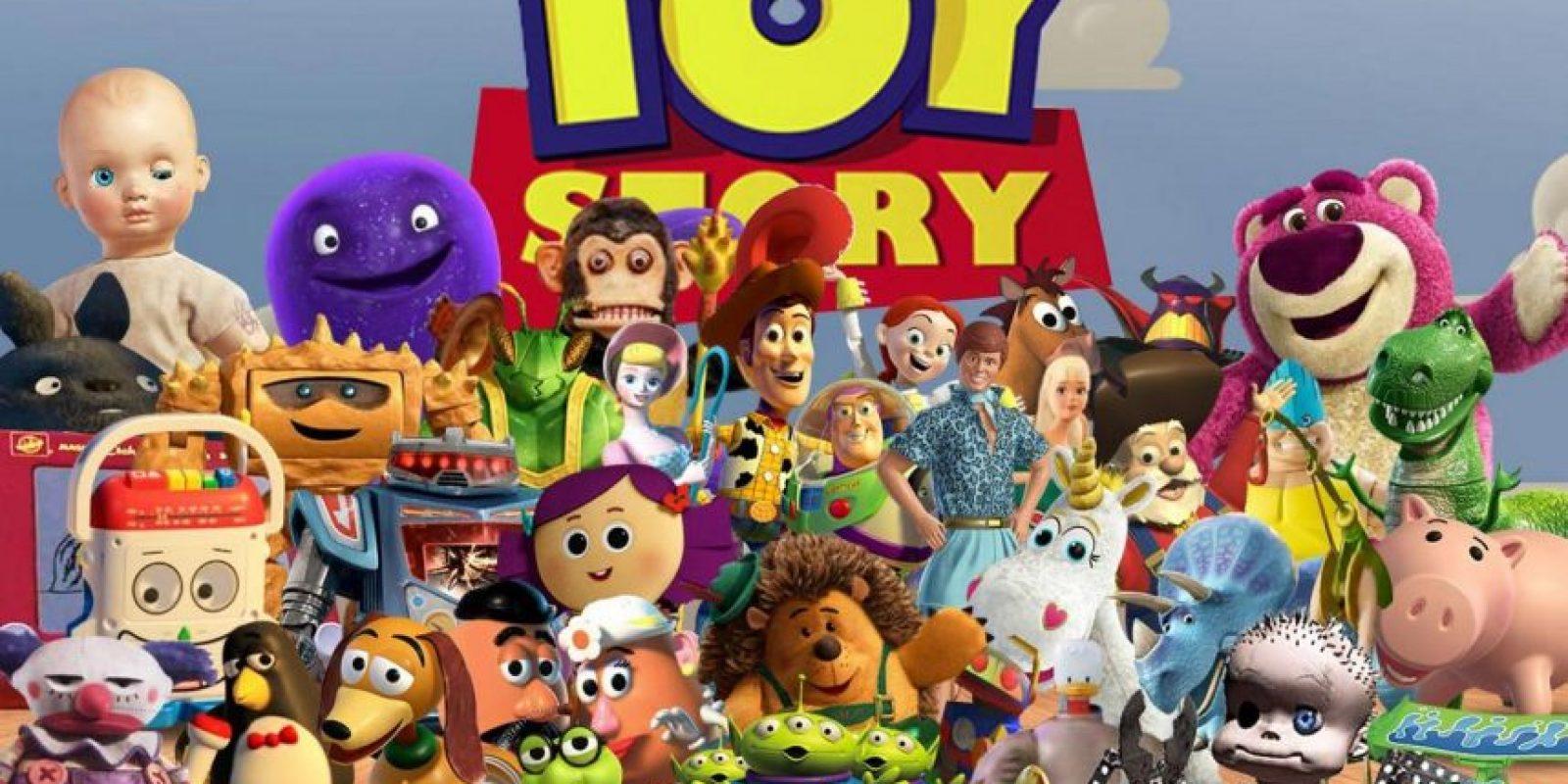 Pixar presentó un primer borrador de la película de Disney el 19 de noviembre de 1993. El resultado fue desastroso. La película fue considerada imposible de ver Foto:Disney
