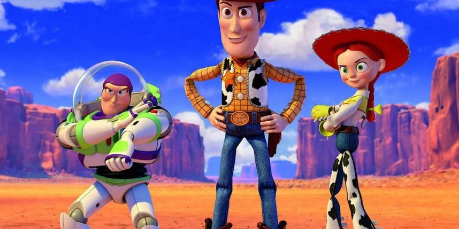 """La película originalmente iba a ser llamada """"You Are A Toy"""" (eres un juguete) Foto:Disney"""