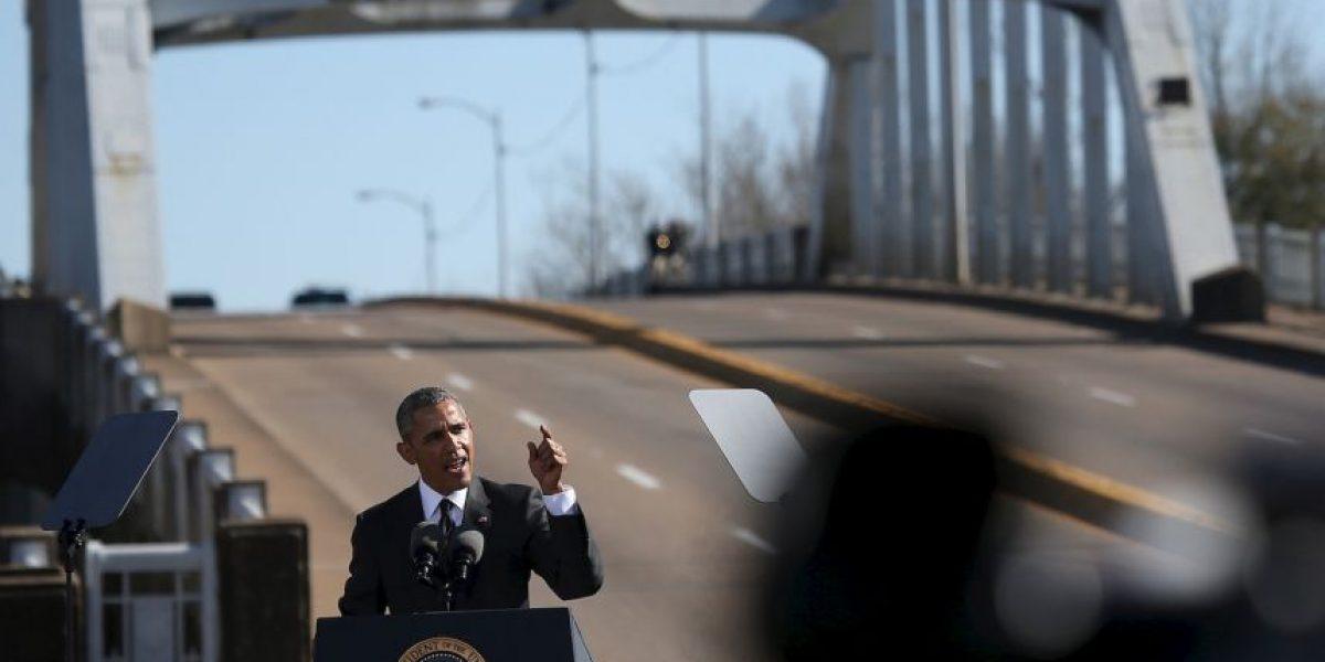 FOTOS: Obama da histórico discurso en el aniversario del
