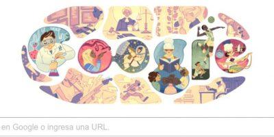 Google celebra a la mujer con un doodle