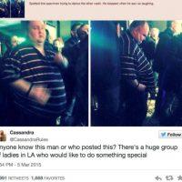 ¿Se acuerdan de este hombre? Fue avergonzado por querer bailar en un concierto gracias a su peso. Foto:Twitter