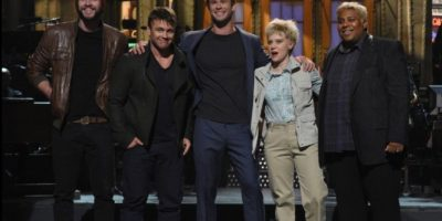 """Chris Hemsworth presentó a su """"cuarto hermano"""" en televisión"""