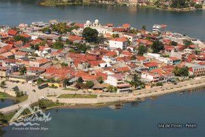 Isla de Flores, Petén Foto:Inguat