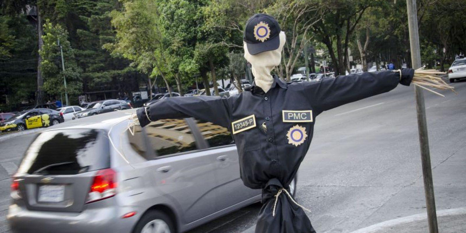 EspantaCacos regresa a las calles y presentan nueva aplicación Foto:Luis Carlos Nájera