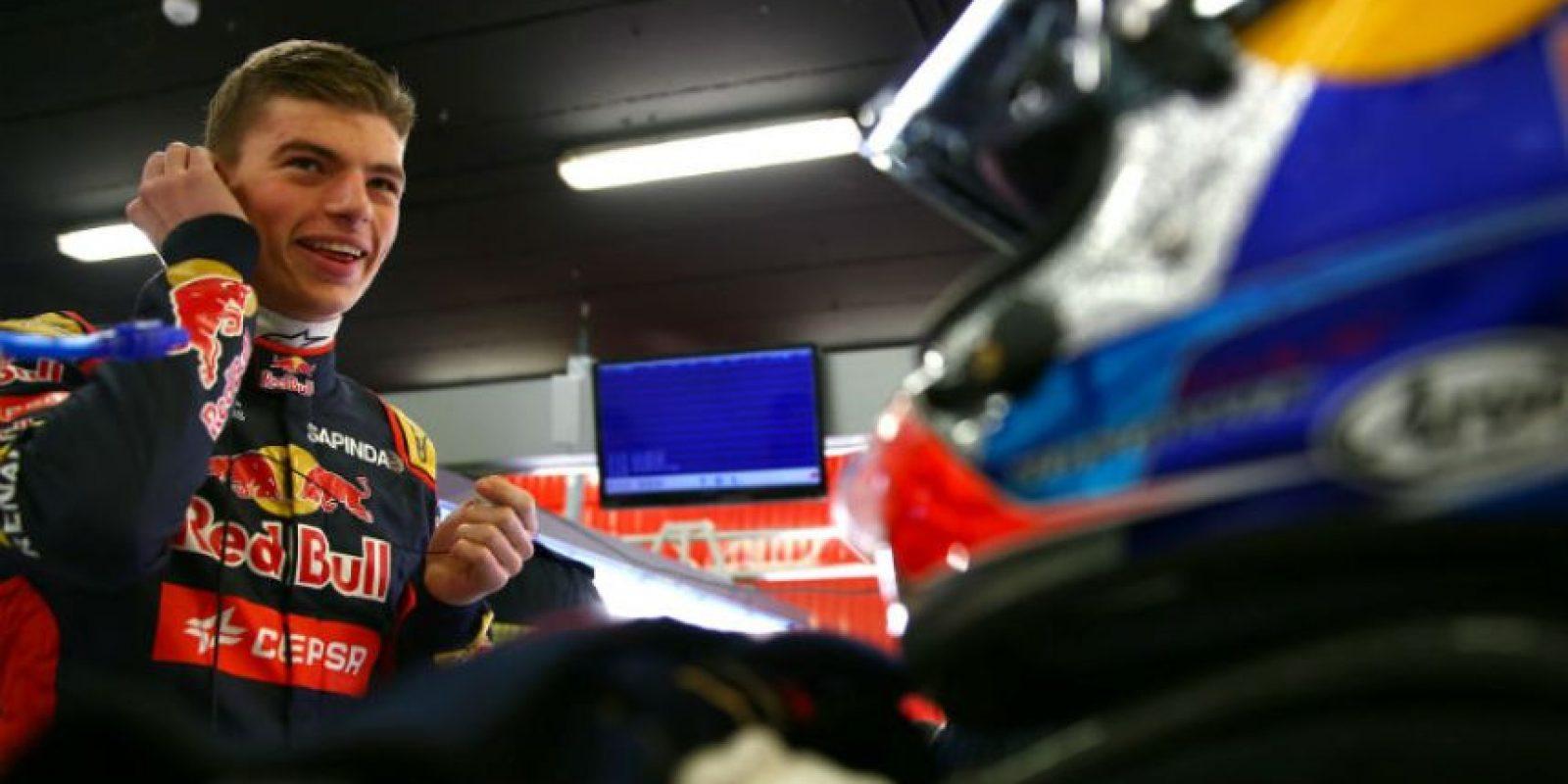 Ahora es el turno de Max Verstappen Foto:Getty Images