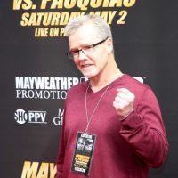 """Freddie Rouch, coach de """"Pacman"""" Foto:Getty Images"""