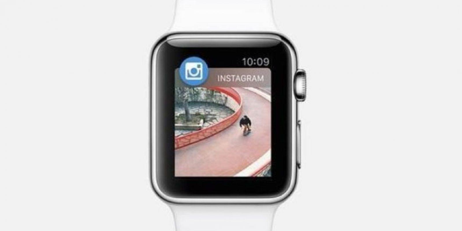 Instagram: Fotografias en una versión miniatura. Foto:Apple