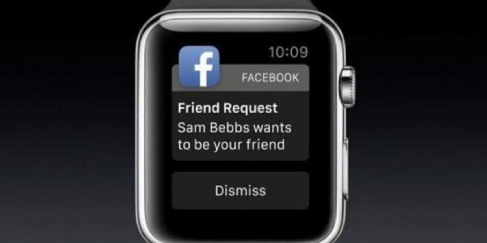Facebook: Todo lo que hacen sus amigos al alcance de sus manos. Foto:Apple