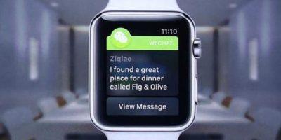 WeChat: Mensajes de la red social y escribir nuevos con la voz. Foto:Apple