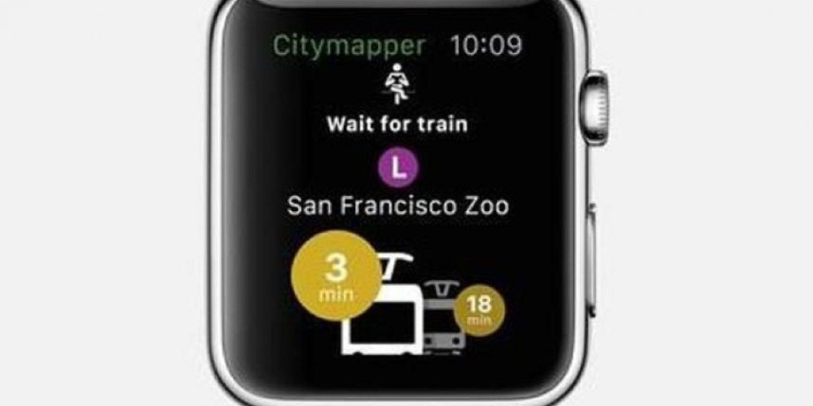 Citymapper: Si están en una ciudad que no conocen, esta app los guiará hasta su destino diciéndoles cómo llegar en transporte público. Foto:Apple