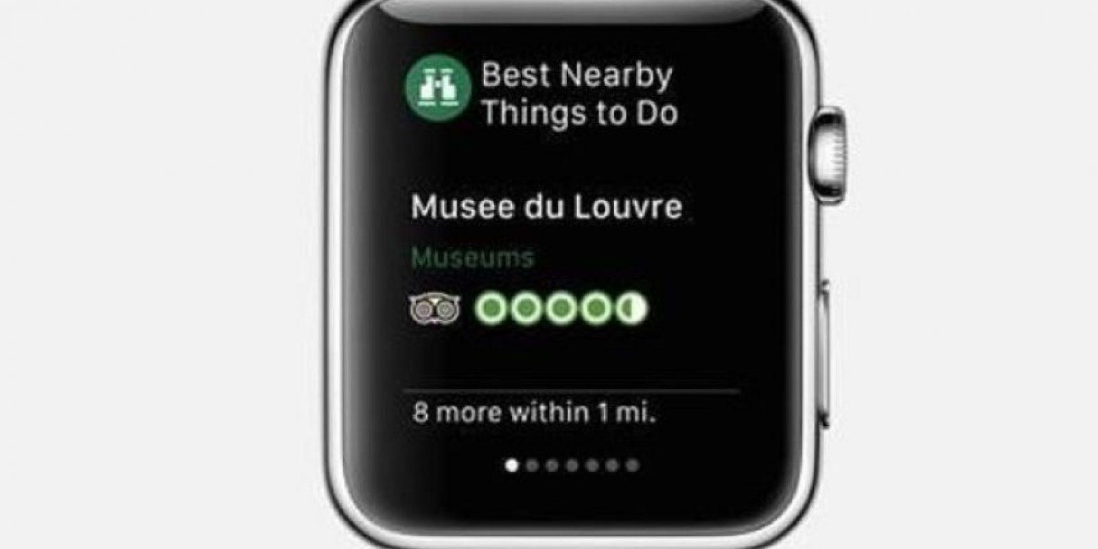 TripAdvisor: Información sobre destinos, hoteles, restaurantes y sitios de interés. Foto:Apple