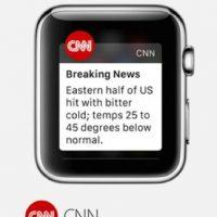 CNN: Las historias del canal de noticias en 12 categorías Foto:Apple
