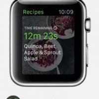 Green Kitchen: Recetas saludables y orgánicas con la opción de iniciar un temporizador y recibir notificaciones. Foto:Apple
